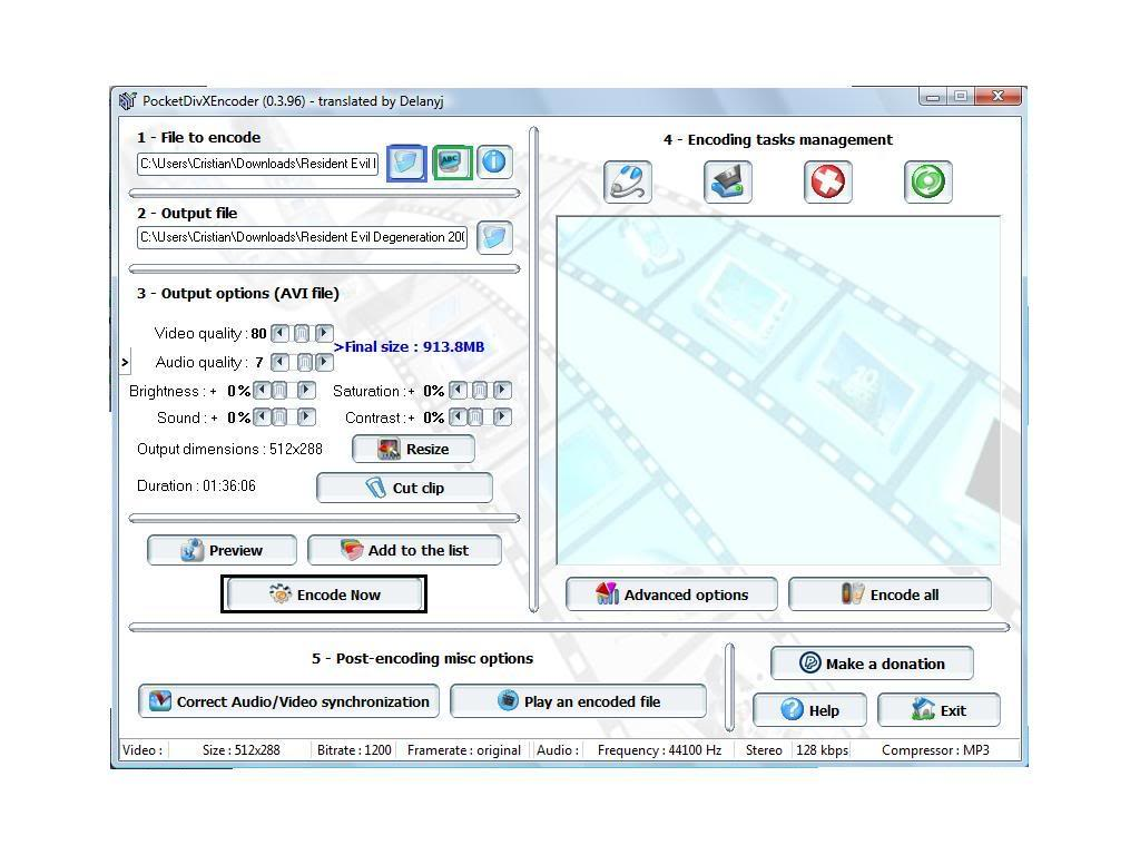 Pocketdivxencoder 0.3.96 Exe